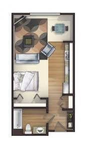 Images Small Studio Apartment Floor Plans by Small Studio Apartment Floor Plans Our One Bedroom Apartments Plan