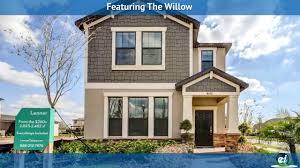 100 The Willow House Plan Model Tour YouTube