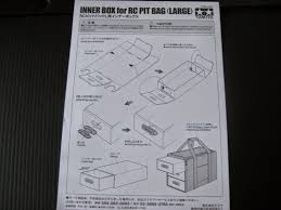 Tamiya Midnight Pumpkin Manual by Tamiya 42202 Inner Box For Rc Pit Bag Mini Review The Rc Racer