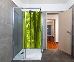 duschrückwand bambus duschwand design wanddeko für dusche bad fliesen abdeckung deko set duschkabine m0003