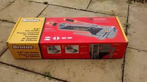brutus 13 inch 330mm tile cutter still available price reduced