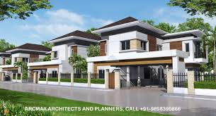 100 Villa House Design Township And Housing Arcmax Architects