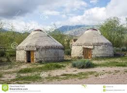100 Desert Nomad House Yurt A Nomad House Stock Image Image Of Nomadic