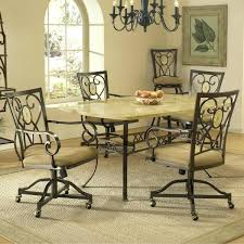 7 Piece Patio Dining Set Canada by Swivel Dining Chairs With Casters Uk Wholesale Douglas Restaurant