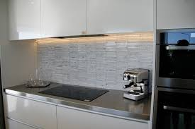 Kitchen Splashbacks Kembla Kitchens For Different Look Try Mixing Materials Such Tile And Glass
