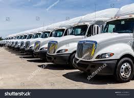 100 International Trucks Indianapolis Circa June 2018 Semi Stock Photo Edit