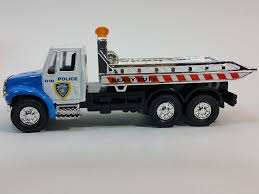 Amazon.com: Showcasts Blue & White Police Flatbed Tow Truck ... Best Rollback Tow Trucks For Sale Craigslist Used 2012 Freightliner M2 Rollback Truck For Sale In Al 3008 1994 Chevrolet Silverado 3500hd Rollback Truck Item H6352 Natts Northern Alberta Truck Sales 2019 New Peterbilt 337 22ft Jerrdan Tow 22srr6tw 2013 Hino 258 172605 Miles Lewiston Id Peterbilt 335 Century Carrier By Carco Youtube 1995 Chevrolet 550662 2002 Intertional 4300 285436 2018 Freightliner 106 Extended Cab At For Sale In Springfield Massachusetts 2006fdf650llbatruckfsaorlthroughpennlease