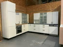 gebrauchte helle l form küche inkl geräte kauf