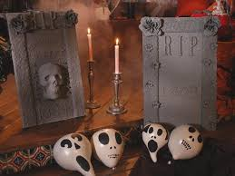 Diy Halloween Wood Tombstones by Stone Spray Tombstones Diy