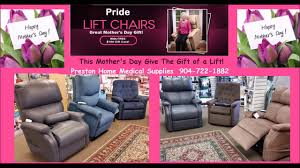 Pride Serta Lift Chair by Power Lift Chair Recliner Store Jax 32211 Mothers Day Youtube