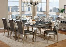 Dining Room Modern Round Dining Table And Chairs Trendy Dining Table