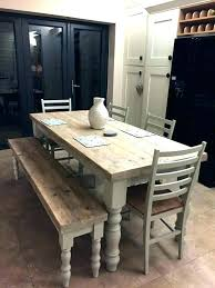 Dining Room Sets With Bench High Table Height For