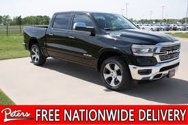 New 2019 Ram 1500 Laramie Crew Cab In Longview #9D119 | Peters ...