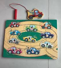 100 Used Tow Truck Melissa And Doug Wooden Magnetic Puzzle Babies Kids