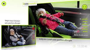 location voiture avec siège bébé siège auto groupe 0 evo lunafix de kiddy