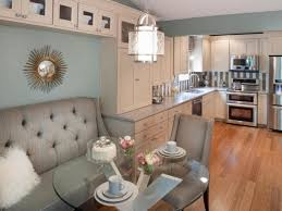 Kitchen Nook Decorating Ideas Breakfast An Open Plan Idea With A Banquette