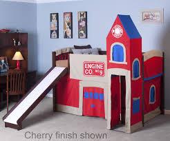 Bedroom Fire Truck Bunk Bed For Inspiring Unique Bed Design Ideas ...