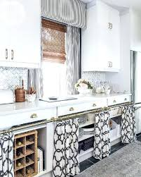 White Kitchen Curtains With Black Trim by Black White Kitchen Curtains The Reasoning For Re Painting All