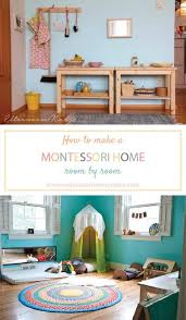 How to make a Montessori home room by room