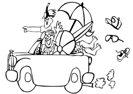 Click To See Printable Version Of Go The Beach Coloring Page
