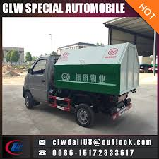 China Pull-Arm Garbage Truck Cabin Removable Garbage Truck Mini ...