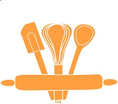 Orange Kitchen Utensils Clip Art at Clker vector clip art