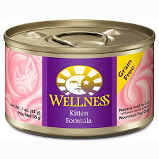 wellness cat food wellness grain free canned kitten food