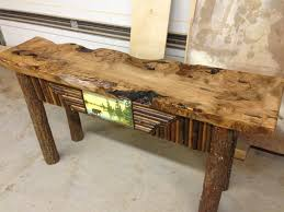 Rustic Console Table Diy