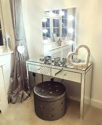 makeup vanity table with lighted mirror australia dressing table