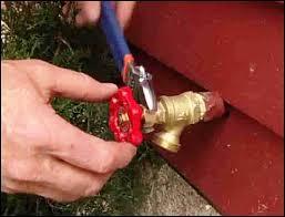 Outdoor Faucet Repair
