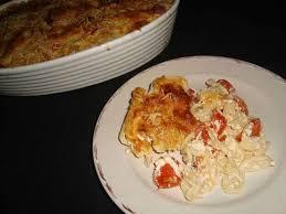 recettes de gratin de pates et chorizo