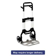 Stow-Away Heavy-Duty Hand Truck By Safco® SAF4055NC - OnTimeSupplies.com Facom Btht1 Heavy Duty Hand Truck Amazoncom Harper Trucks H59k19 800pound Zeny New Fniture Dolly Moving 2 Wheel A11bdbht B P Dual Disc Brake Illinois Alinium Hs1017 11street Malaysia Tire Blue Red Standard Large Industrial Sack Mophorn Alinum In 1 Step Ladder Folding Cart Lavohome Super Platform China Ht1823 Good Price Shop Milwaukee 800lb Capacity Steel At 2018 3 1000lbs