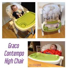 Graco Contempo High Chair Replacement Seat Cover by Graco Contempo Highchair Mothergeek Review