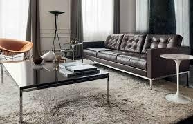 koton naturleder für florence knoll sofa barcelona sessel