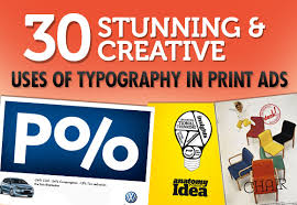 30 Stunning Creative Uses Of Typography In Print Ads