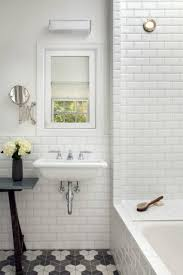 beveled subway tile contemporary bathroom bergroth