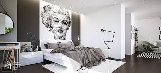 Marilyn Monroe Bedroom Furniture by 40 Beautiful Black U0026 White Bedroom Designs