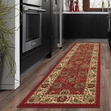 Fleur De Lis Reversible Patio Mats by Area Runner Rug With Non Skid Rubber Backing Hallway Rugs Kitchen