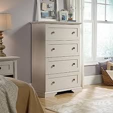 Sauder Shoal Creek Dresser Soft White by 4 Dressers Bedroom Furniture The Home Depot
