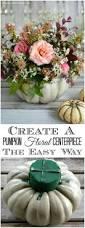 Fake Carvable Pumpkins by Best 25 Pumpkin Floral Arrangements Ideas On Pinterest Pumpkin