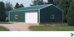 Menards Metal Storage Sheds by Pole Barn Post Frame Buildings At Menards