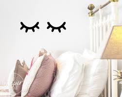 Baby Wall Decals South Africa by Sleepy Eyes Wall Decal Vinyl Sticker Closed Eyes Kids Decor