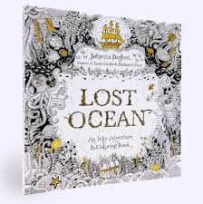 Best Adult Colouring Books Lost Ocean Basford Top
