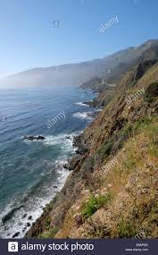 100 Pacific Road Highway Coast Road The Big Sur Stock Photo 73995504 Alamy