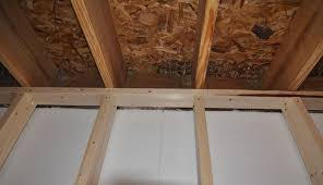 Installing Drywall On Ceiling In Basement by Applying Finishing Touches To Concrete Foundation Walls Buildipedia