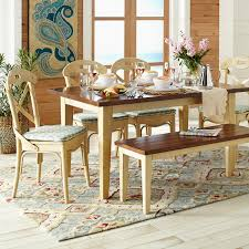 Carmichael Dining Table Is Rustic And Old World But In That Cool New Way Fits A Breakfast Nook Or City Apartment Built Of Fine Grained Hardwoods With