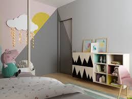 chambre d enfant com chambre d enfant en bois clair et tons pastel un espace scandinave