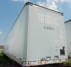 100 Stoughton Trucking 1992 53 Dry Van Trailer Item H3065 SOLD July