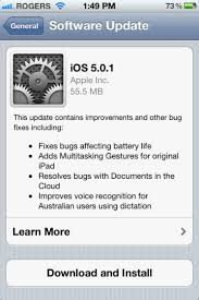 How to manually update to iOS 5 1 1 with iCloud