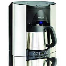 Brew Express BEC 110BS 10 Cup Countertop Coffee System Stainless Black